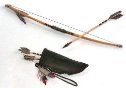Indian, Bow and Arrow