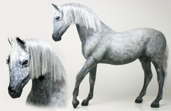 Horse, Dapple Grey