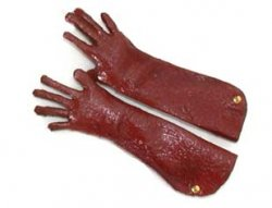 Gloves, Ladies Red