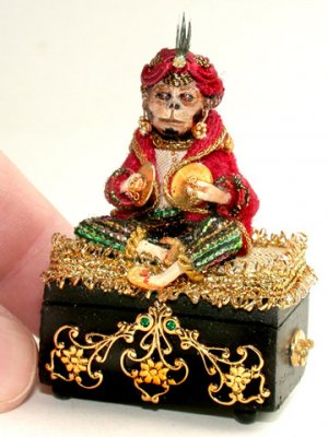Monkey Music Box