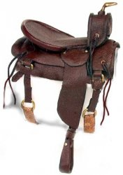 Saddle, Brown Western