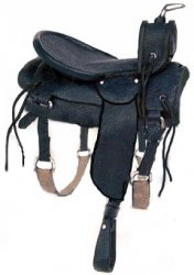 Saddle, Black Western