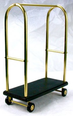 Bellman's Cart, Black & Brass