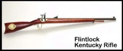 Rifle, Kentucky Flintlock