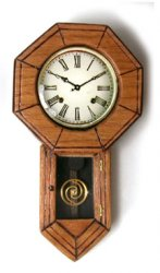 Clock, Regulator Pointed Base
