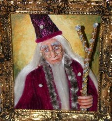 HP, Dumbledore Painting