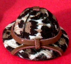 Hat, Safari Animal Print