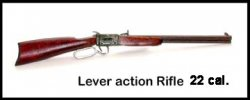 Rifle, Lever Action 22 cal.