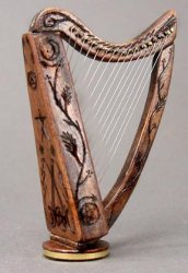Harp, 15th Century Celtic