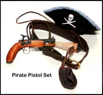 Pistol, Pirate Set