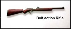 Rifle, Bolt Action
