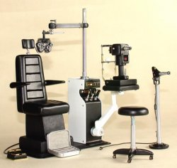 Opthamologist Exam Equipment