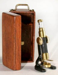 Microscope, Cherry Box