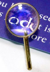 Magnifying Glass, Brass Handle