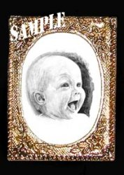 Baby Portrait Framed