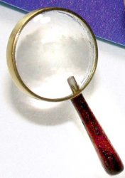 Magnifying Glass, Wood Handle