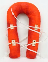 Life Vest Distress Orange