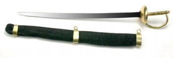 Sword, Military Saber and Sheath