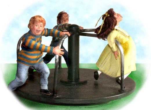 Merry-go-Round Children - Click Image to Close