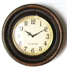 Clock, Round Wall - Click Image to Close