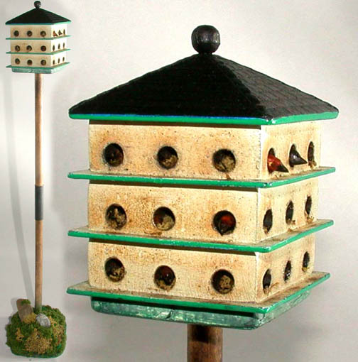 Martin Bird House - Click Image to Close